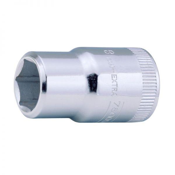 """Steckschlüsseleinsatz 1/2"""" - 26mm - Sechskant - metrisch"""