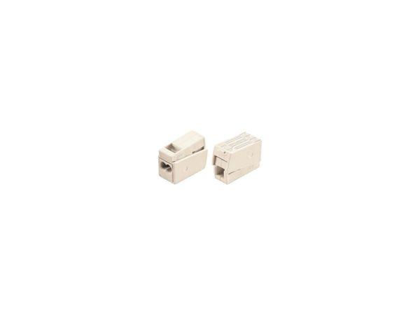 Leuchtenklemmen - 2L - 1- 2.5mm2 - Litze/ T-Draht