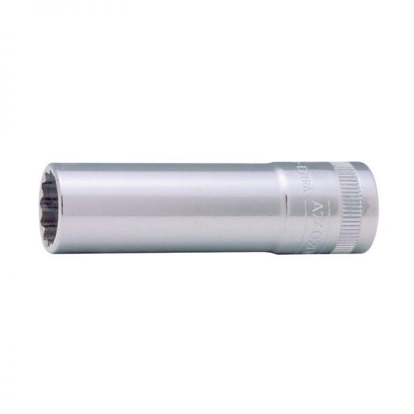 """Steckschlüsseleinsatz 3/8"""" - 10mm - Sechskant - Lang - metrisch"""