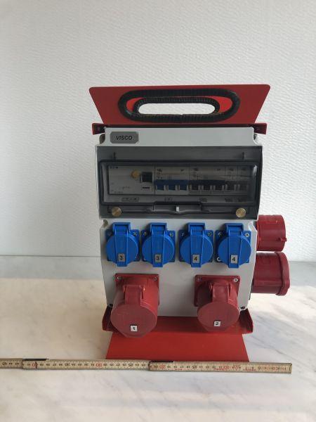 Baustromverteiler 40A / 1xCEE 32A/ 1xCEE 16A / 4xTyp 23