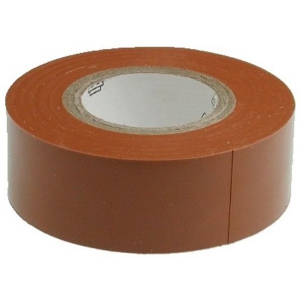 Isolierband - 19mmx0.13mmx20m - braun